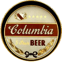 Columbia Beer Tray